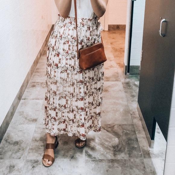 Endless Rose Heart Vine Floral Maxi Skirt